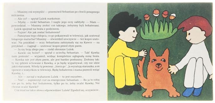 Kawka, Lulek i Sebastian