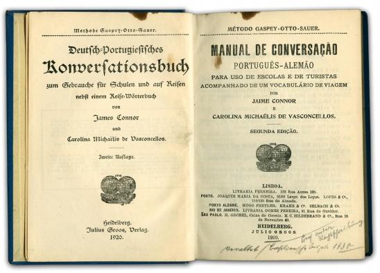 Connor   słownik niemiecko-portugalski   1920