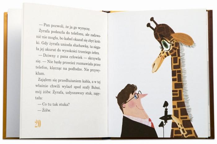Odwiedzila mnie żyrafa | Stanisław Wygodzki | Mirosław Pokora