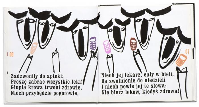 Biały niedźwiedź | Czarna krowa | Marcin Brykczyński | Grażka Lange