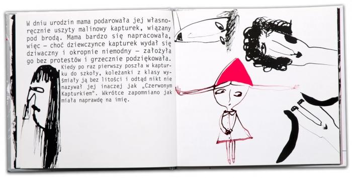 Czerwony Kapturek | Olech | Grażka Lange | niebaśnie