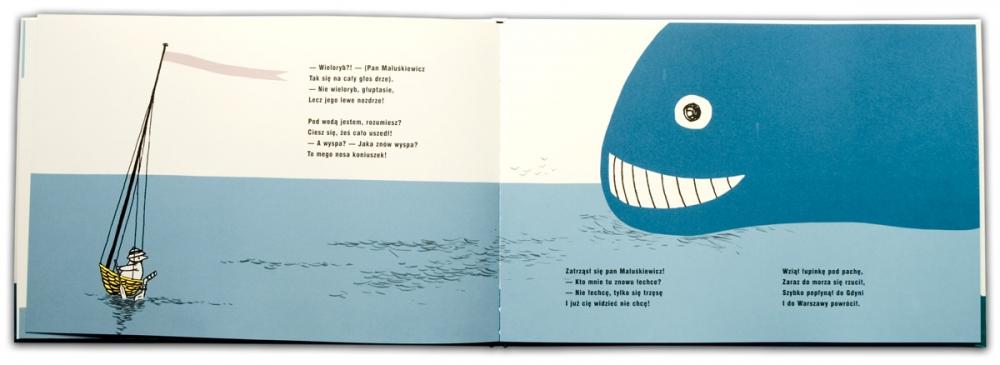 Pan Maluśkiewicz i wieloryb | Julian Tuwim | Bohdan Butenko
