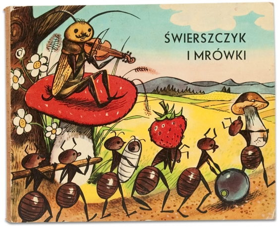 Świerszcz i mrówki