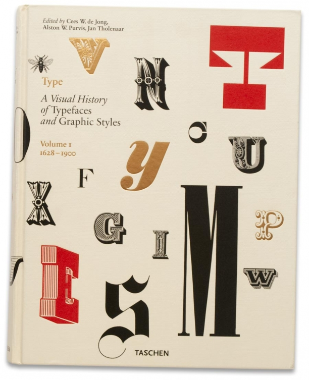 The Visiual History of Typefaces and Graphic Styles