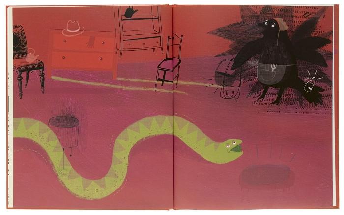 Wrony i wąż