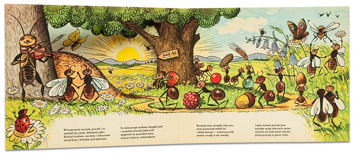 Książki Z Naszej Półki świerszcz I Mrówki