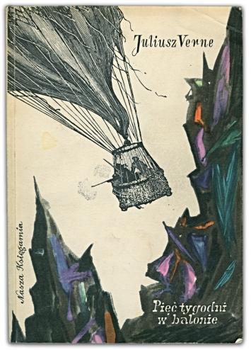Pięć tygodni w balonie | Juliusz Verne